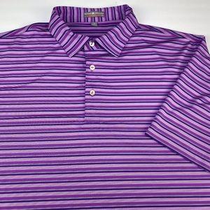 Peter Millar Summer Comfort Men's Polo Size XL